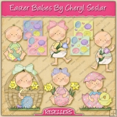 RESALE ART WORK - Easter Babes Collection