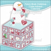 Patch Work Christmas Cube Advent Calendar