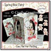 Spring Box Card - Just Paw You at Christmas