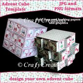 Advent Cube Template
