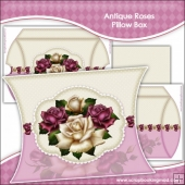Antique Roses Pillow Box