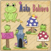 Make Believe ClipArt Graphic Collection