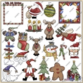 Christmas ClipArt Graphic Collection 3