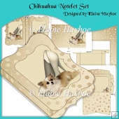 Chihuahua Notelet Set