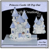 Princess Castle Pop Out Card