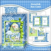 Snowfolk Box Card