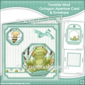 Toadaly Mad Octagon Aperture Card