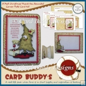 A Post Christmas Thank You Rounded Corner Fold Card Kit