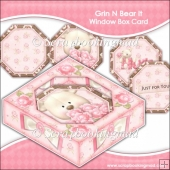 Grin N Bear It Window Box Card
