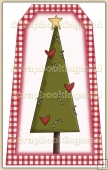 Simply Snowman Tree Decorative Tag