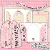 With This Ring Church Door Card & Envelope Set