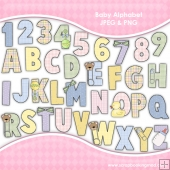 Baby Alphabet Graphic Collection