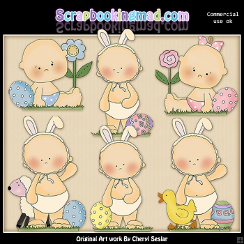 Babys First Easter Graphic Collection