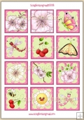 Cherry Blossom Topper Sheet PDF Download