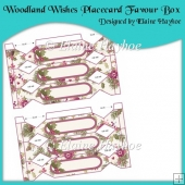 Woodland Wishes Placecard Favour Box
