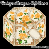 Vintage Hexagon Gift Box 2