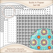 Build A Paper Set 08 - PNG FILES & .PAT File