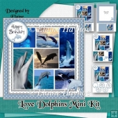 Love Dolphins Mini Kit
