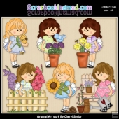Gretas Garden ClipArt Collection