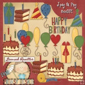 Primsy Birthday Clip Art Download