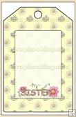 Sister Gift Tag - REF_T577