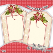 Holiday Magic Gift Tags - Ref T698 & Ref T699