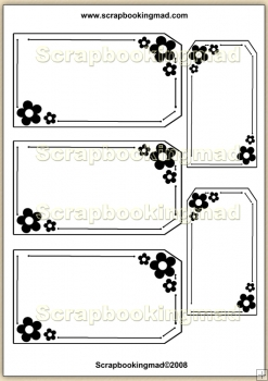 Template Overlay Flower Tag (3) PDF Sheet