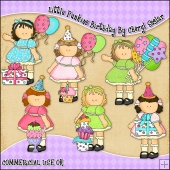 Little Punkins Birthday ClipArt Graphic Collection