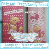 Kitty Cat Treat/Candy Boxes
