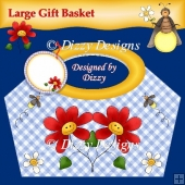 Flowers and Fireflies Gift Basket