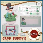 Let it Snow Over The Top Card Kit