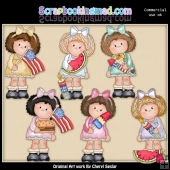 Hillary Rose Fourth Of July ClipArt Collection