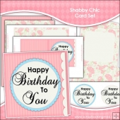 Shabby Chic Card Set