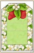 Strawberry Patch Tag - REF_T463