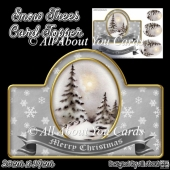 Snow Trees Card Topper