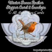 Winter Dance Rocker Stepper Card