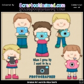 Photographer 2 Clipart Graphics Download