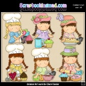 Agnus At The Bakery ClipArt Collection