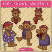 Red Hat Bears Graphic Collection - REF - CS