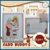A Friend of Thine Easter Decoupage Fold Card Kit