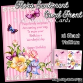 Flora Sentiment Card Front