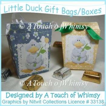 Little Duck Gift Bags/Boxes