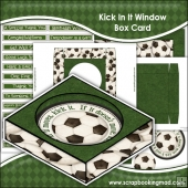 Kick In It Window Box Card