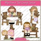 My Friend Ted ClipArt Graphic Collection - REF - CS