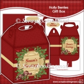 Holly Berries Gift Box