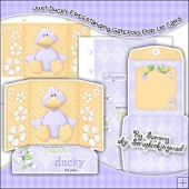 Just Ducky Freestanding Gatefold Pop Up Card