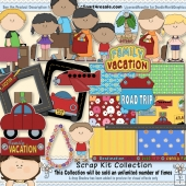 Family Vacation 1 Scrap Kit