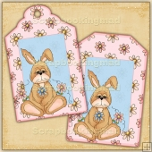 Some Bunny Gift Tags - REF_T672 & REF_T673
