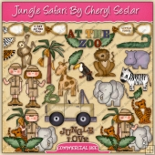 Jungle Safari Graphic Collection - REF - CS