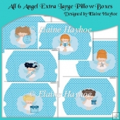 All 6 Angel Extra Large Pillow Boxes